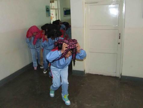 西宁市聋哑学校举行突发事件应急疏散演练 校园时讯 中国聋人网 -西宁图片
