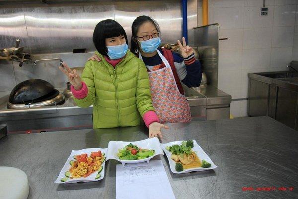 广州市特殊教育学校烹饪比赛 - 校园时讯 - 中国聋人图片