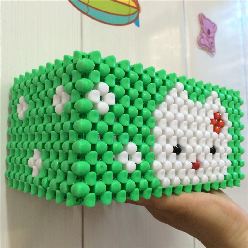 串珠纸巾盒 - 手工 - 中国聋人网
