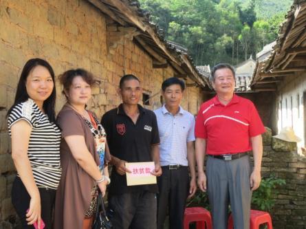 广州市聋人学校:扶贫帮困 促进发展——扶贫调研活动图片